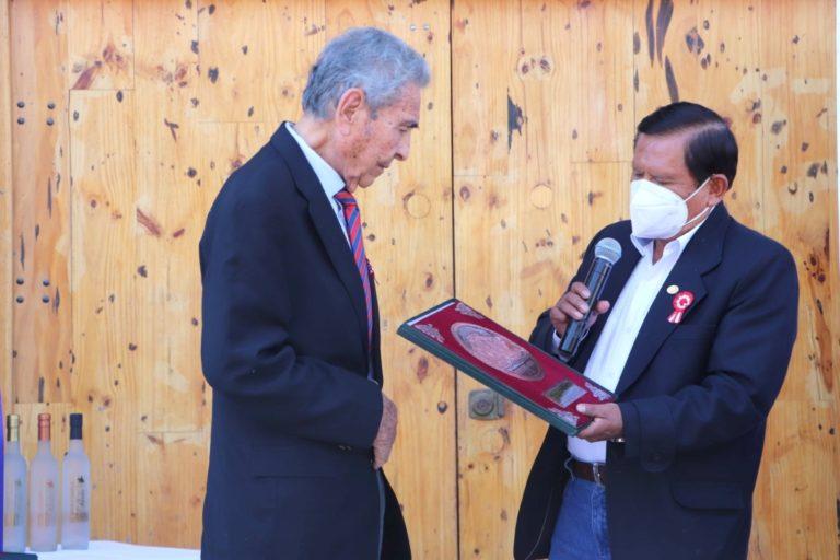 Gobierno Regional de Moquegua reconoció a productores de pisco