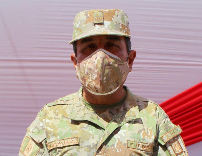 Autoridad militar resalta los 200 años de la independencia del Perú