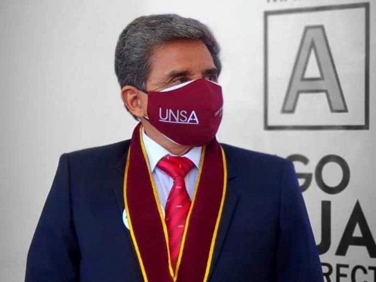 Hugo Rojas Flores es el nuevo rector de la UNSA