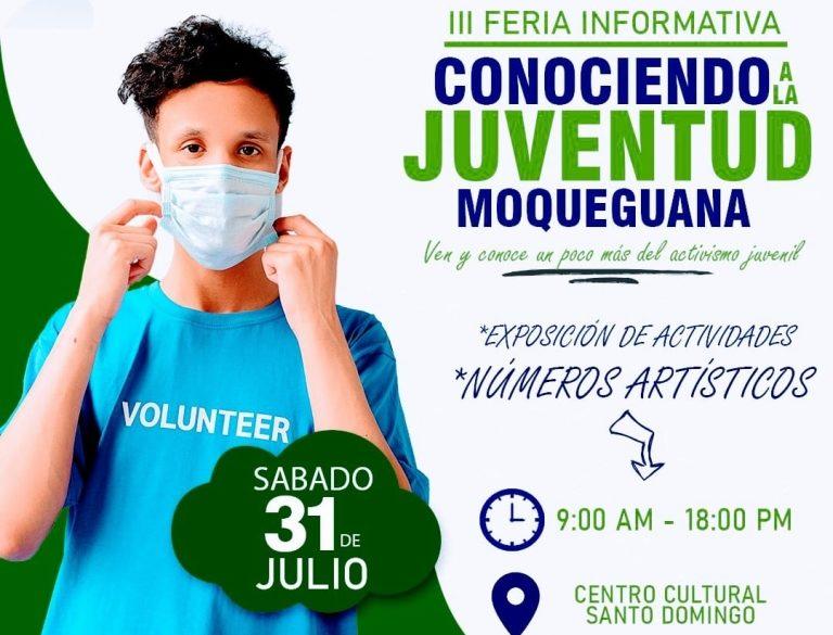 """Hoy realizarán tercera charla informativa """"Conociendo a la juventud moqueguana"""""""