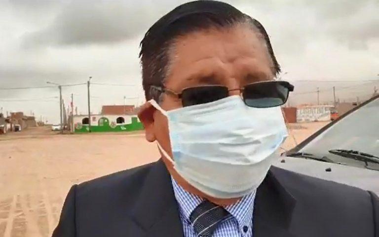 """Dirigente de El Algarrobal señala que gobernador regional dice """"mentiras"""""""
