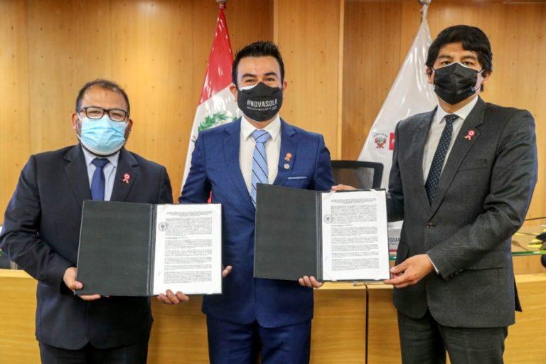 MTC y Municipalidad de Arequipa suscriben convenio para mejorar el transporte público masivo