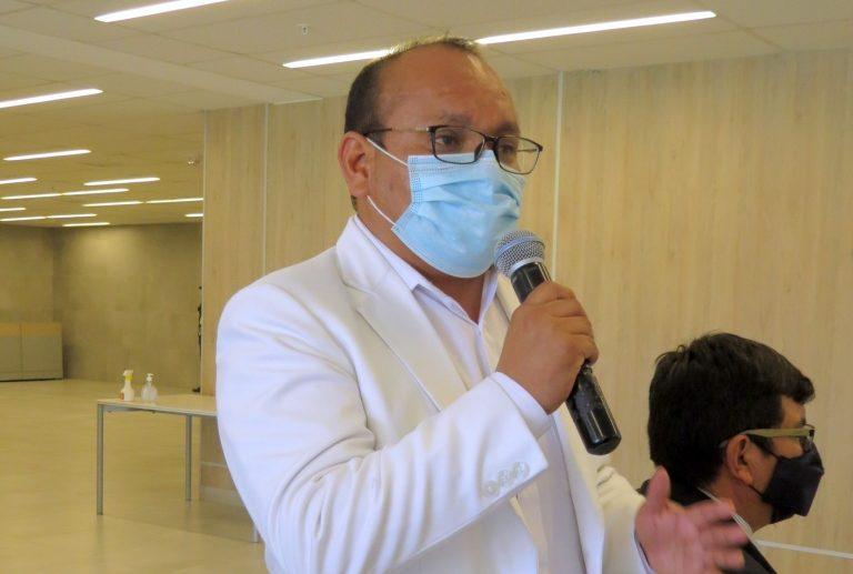 """Dr. Percy Huancapaza: """"No existe ninguna situación irregular en la asignación de funciones de mi ex esposa"""""""