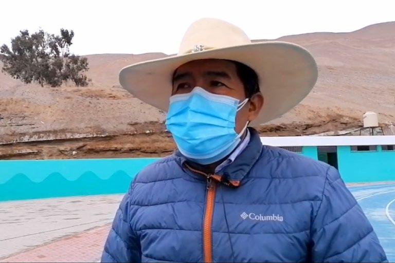 """Alcalde Dean Valdivia le pide al presidente Castillo """"que no imite a nadie"""""""