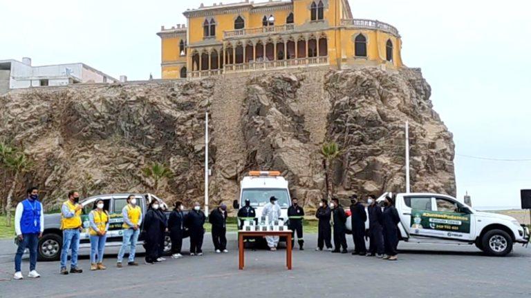 Tisur entrega dos camionetas a Patrulla Covid de la Municipalidad Provincial de Islay