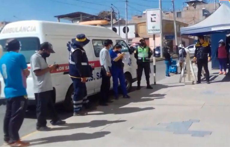 Moquegua: Vacunan a personal de Serenazgo y de servicios a la ciudad contra el Covid-19