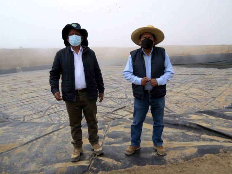 Nuevamente realizan visita a Las Lomas de Ilo y verifican avance de los trabajos