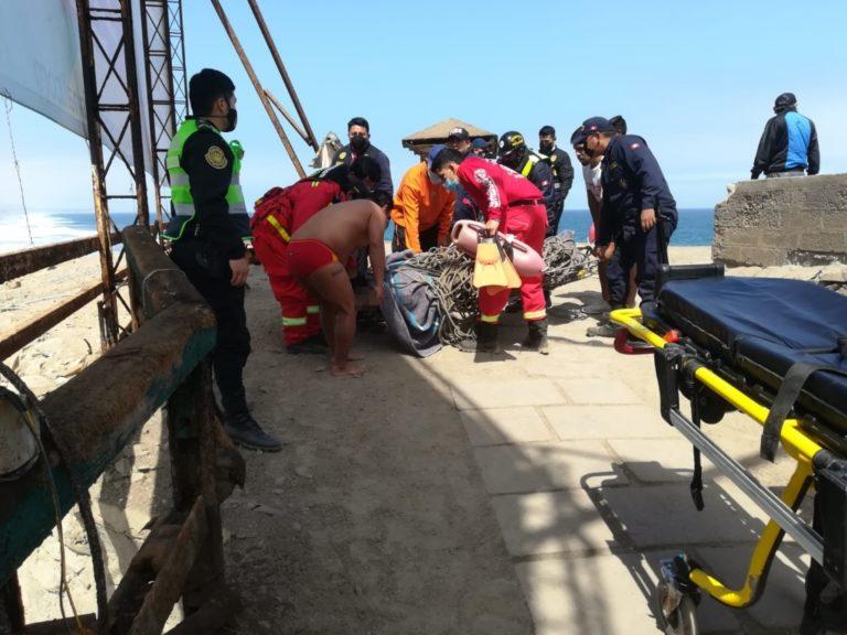 Mollendo: Joven de 25 años muere ahogado
