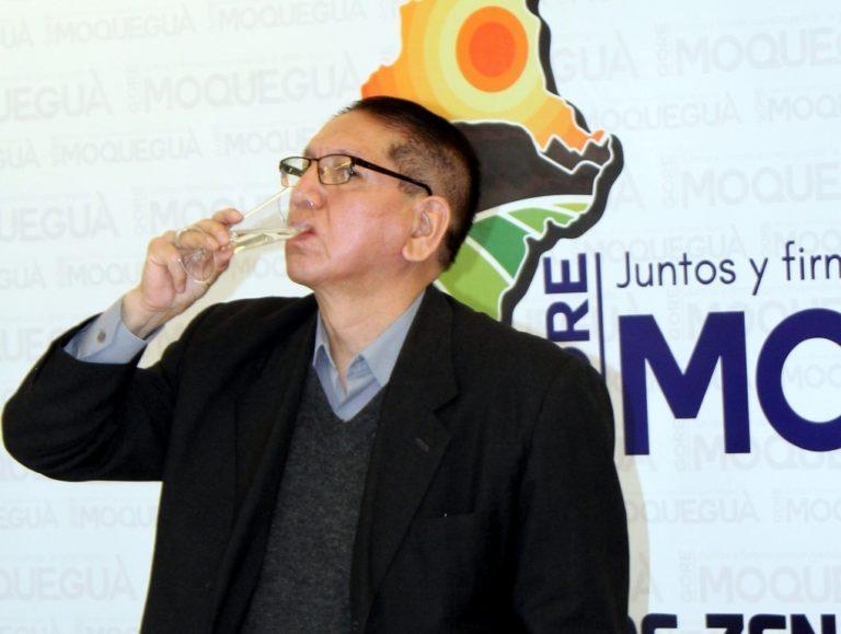 """""""El gerente general del GORE Moquegua solo participa en eventos e inauguraciones"""""""