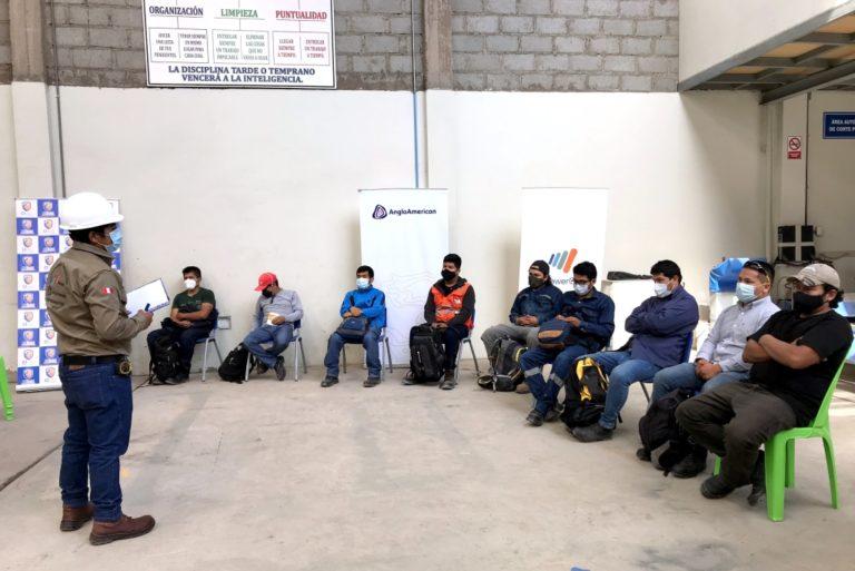 Anglo American: más de 580 moqueguanos inician su capacitación
