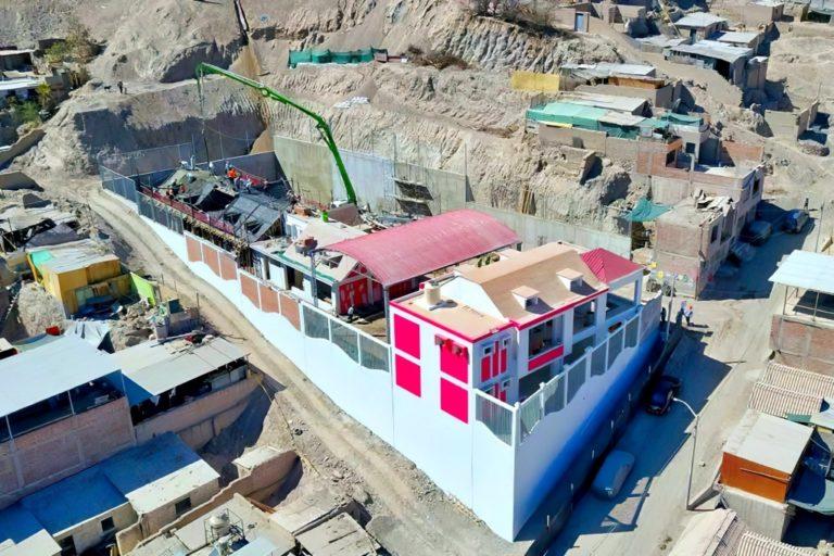 Avanzan obras en colegios iniciales que construye Southern Perú en Moquegua