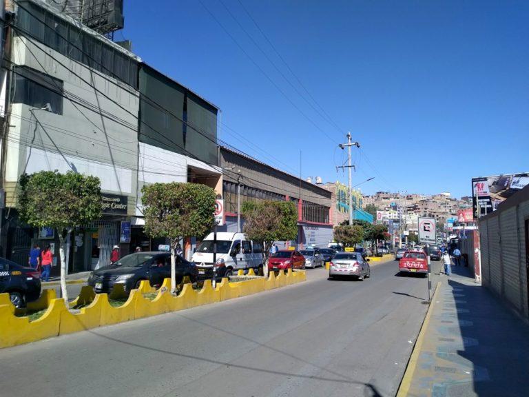 Moquegua: Habilitan semáforo en la Av. Mariano Lino Urquieta
