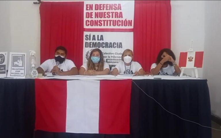 Moquegua: Conforman colectivo que está en contra de una asamblea constituyente