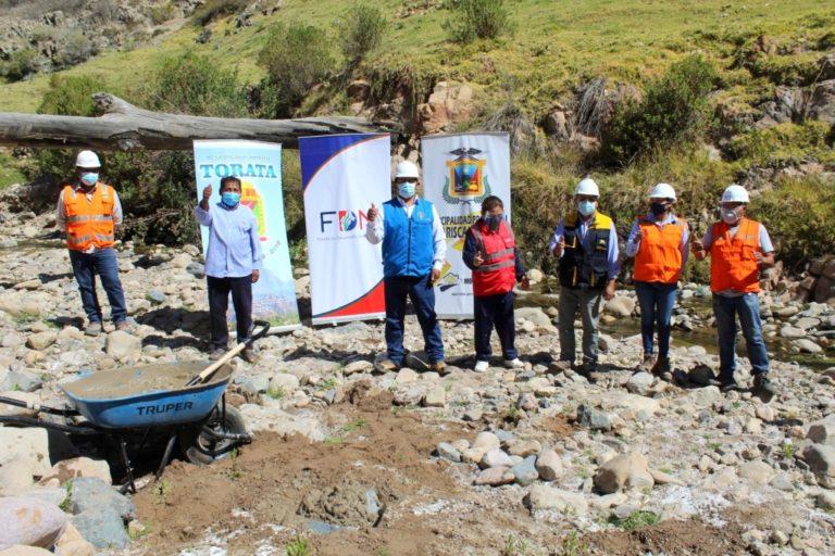 Ejecutarán puente vehicular en la junta vecinal Benito, Huacanane, Calientes de Torata