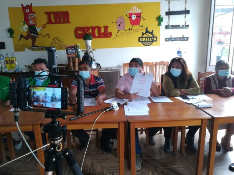 Mollendo: Pobladores se opondrán a lanzamiento judicial en asociación Puerto Bravo