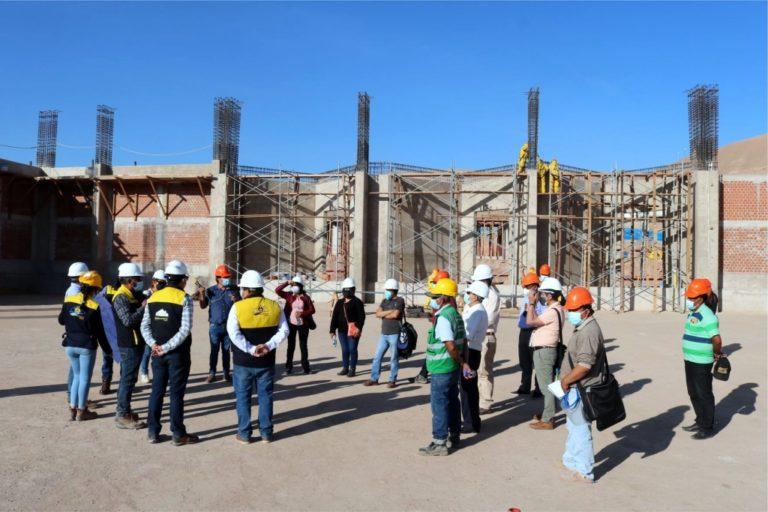 Moquegua: construcción de nuevo camal municipal está en un 24.5% de avance físico