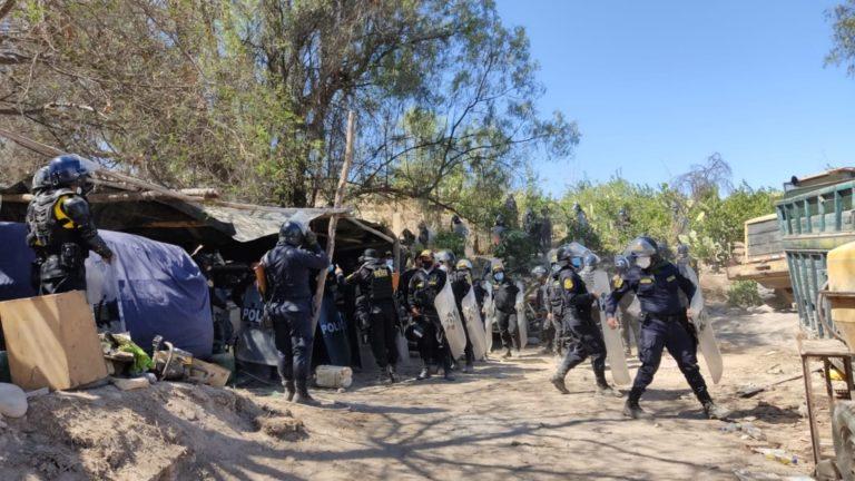 Municipio de Mariscal Nieto recupera camino vecinal en La Bodeguilla