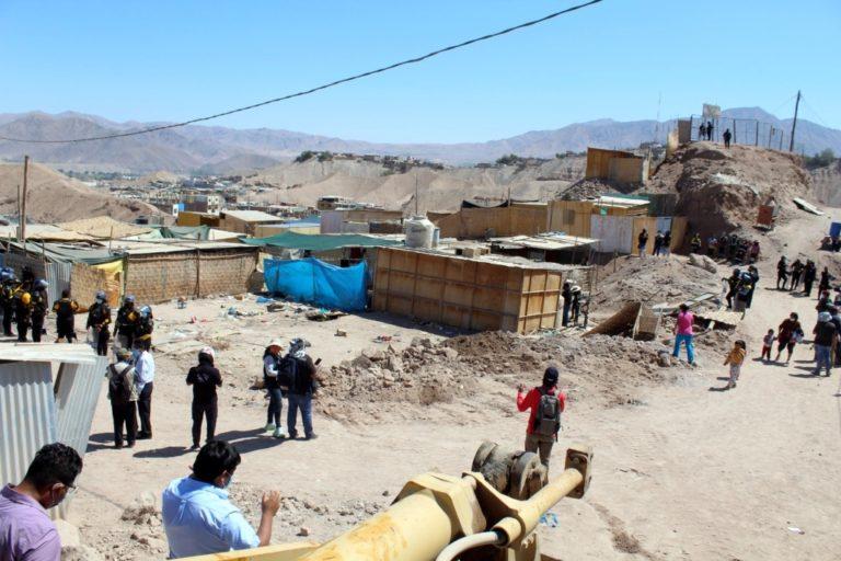 Moquegua: Municipio cumple con diligencia de desalojo en San Antonio