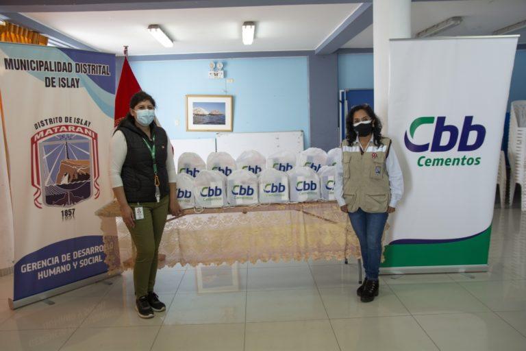 Cementos CBB entrega mil kits contra el Covid en Mollendo y Matarani