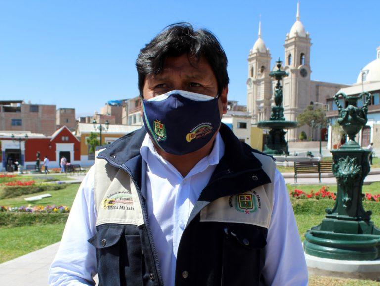 Alcalde de Carumas pide equipos para la Compañía de Bomberos