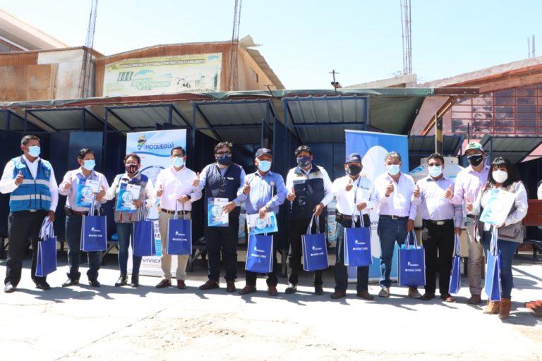 GORE Moquegua implementa sistema de cloración de agua para el consumo humano