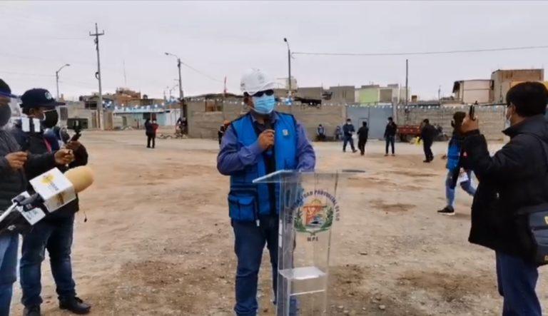 Colocan primera piedra para mejoramiento de infraestructura vial en Las Glorietas y Villa El Edén