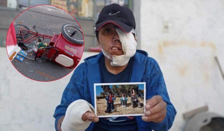 Arequipa: Familia de heladero arrollado por cúster pide apoyo a las autoridades