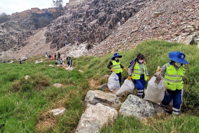 Mollendo: Continúan jornadas de limpieza en quebrada Yalú