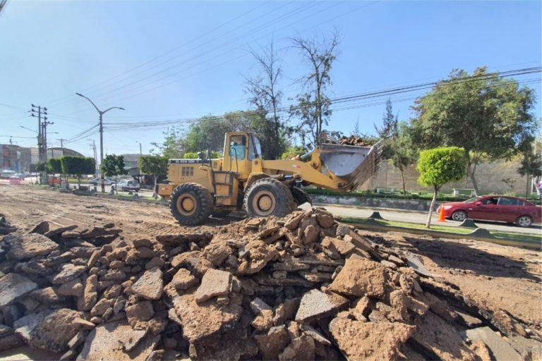 Moquegua: Obra de asfalto en caliente alcanzó el 60% de avance