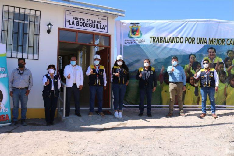 """Municipalidad provincial de Moquegua entrega del puesto de salud """"La Bodeguilla"""""""