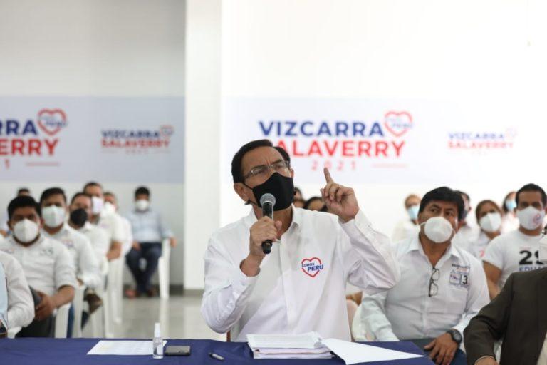 PJ admite a trámite amparo que busca que Martín Vizcarra ejerza como congresista