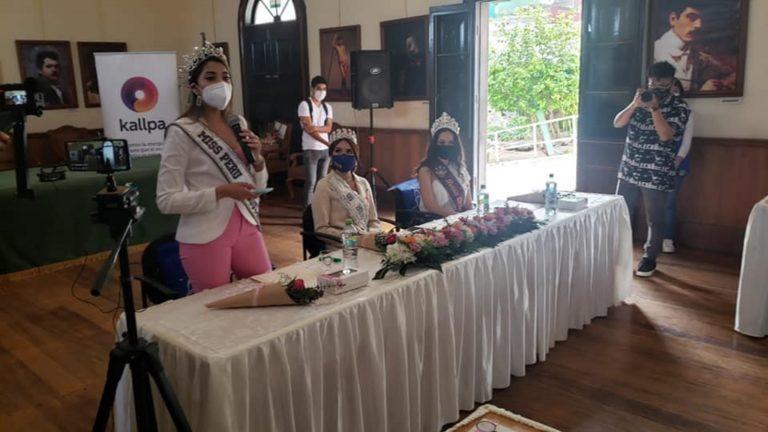 Bellezas arequipeñas participaron de actividades en Mollendo