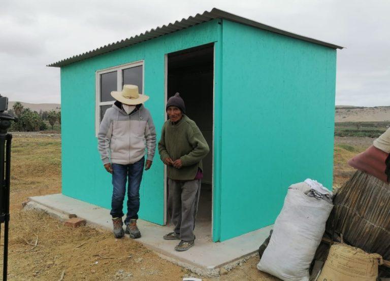 Deán Valdivia: Entregan módulo de vivienda para anciano que vivía en abandono