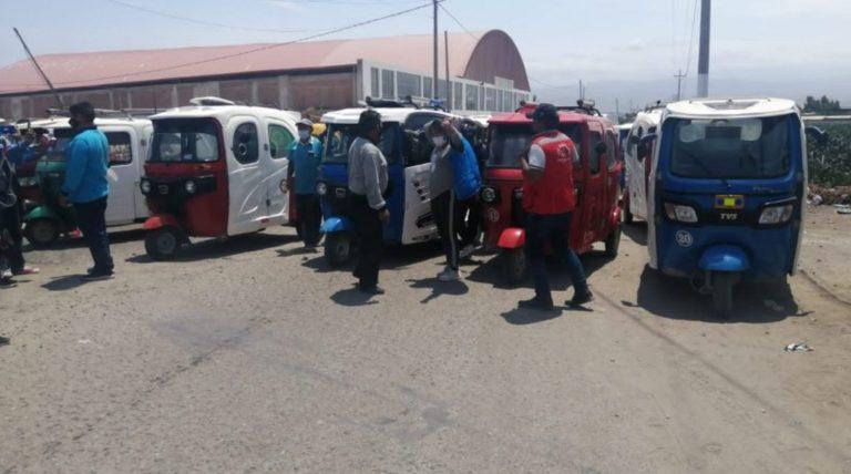 Matarani: hoy realizan charla de protocolos Covid para mototaxis