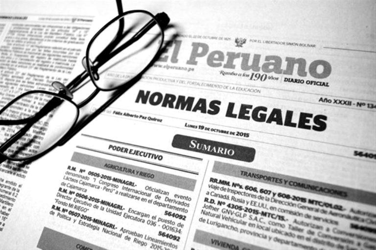 Ley del Congreso que regula la cuestión de confianza fue publicada en el diario oficial El Peruano