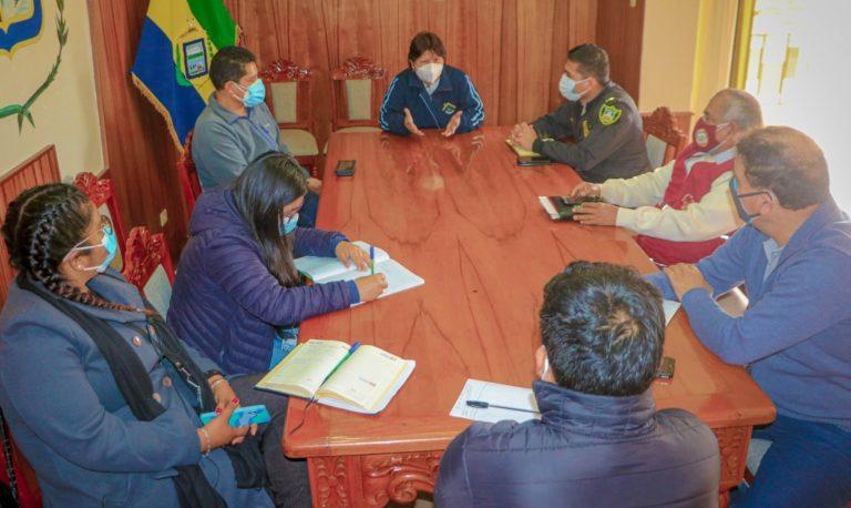Punta de Bombón: Comité multisectorial acuerda medidas frente al Covid-19