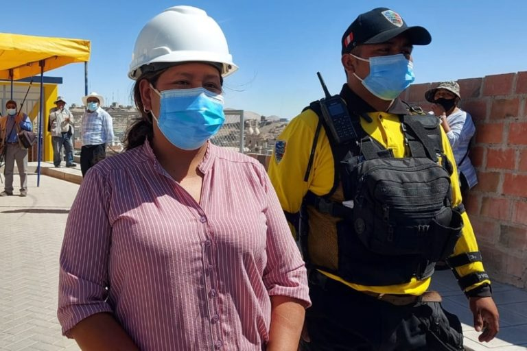 Moquegua: Alcaldesa encargada asegura que regidores dejan de lado mezquindades