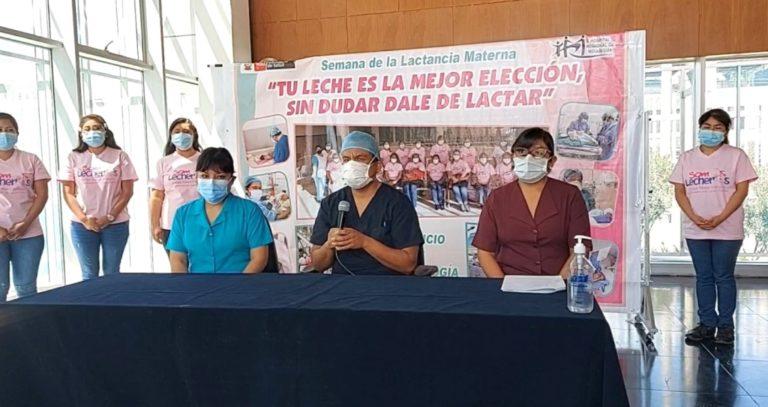 En conferencia de prensa lanzan Semana de la Lactancia Materna