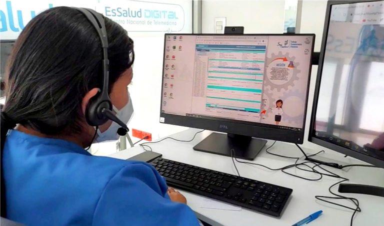 Amplían atención de telemedicina en especialidades de EsSalud Mollendo