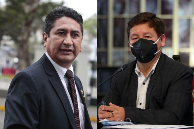 Fiscalía incluye a Vladimir Cerrón y Guido Bellido en investigación por lavado de activos