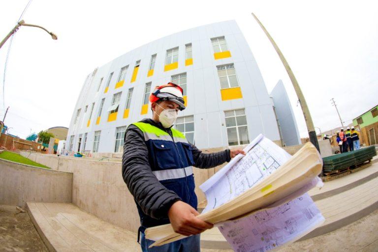 Obra del hospital de Cocachacra avanza al 80 % de ejecución