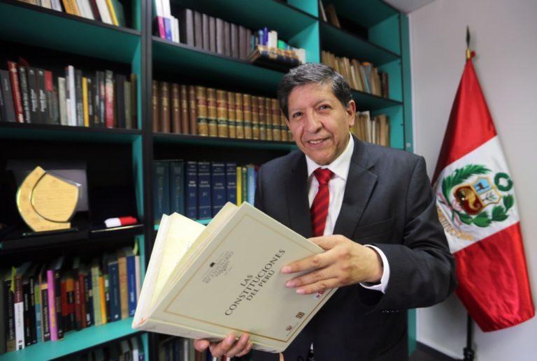 Fallece magistrado del Tribunal Constitucional, Carlos Ramos