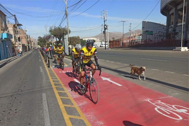 Ciclovía es parte de la iniciativa de lograr que Moquegua sea una ciudad ordenada