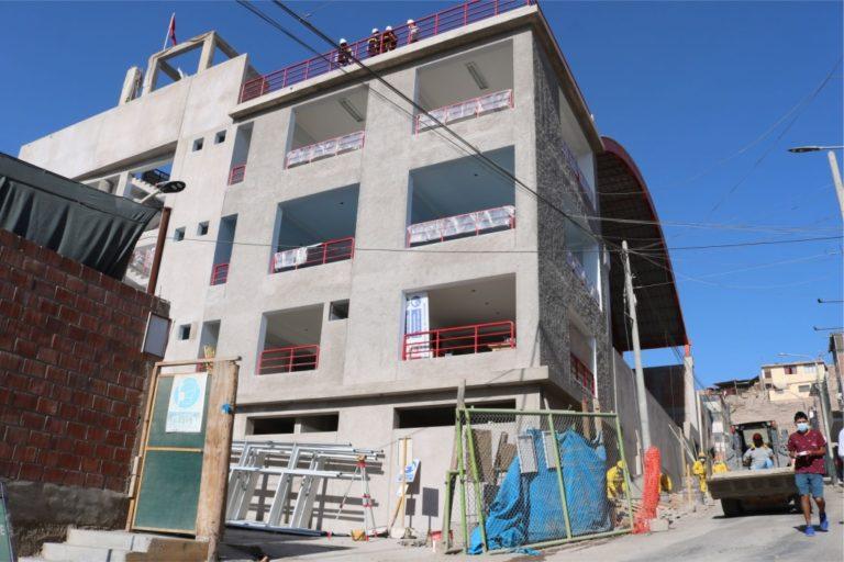 Moquegua: La segunda semana de octubre se entregaría el Complejo Deportivo Municipal