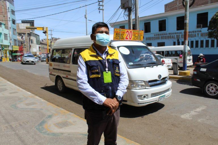 Moquegua: Amplían aforo en los vehículos de transporte urbano hasta un 85%