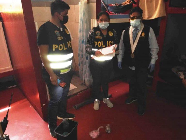 Personal del INPE reportó hallazgo de droga en penal de Samegua