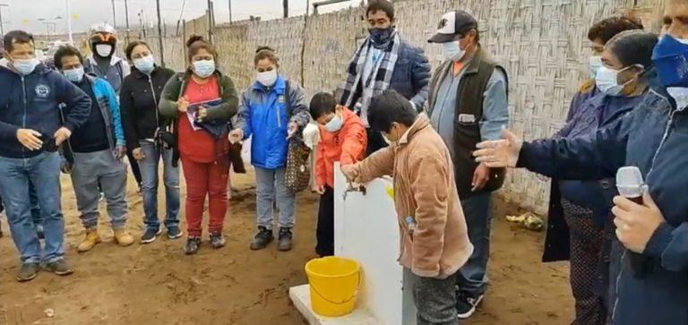 MPI inaugura pileta pública en Asociación Biohuerto Los Geranios