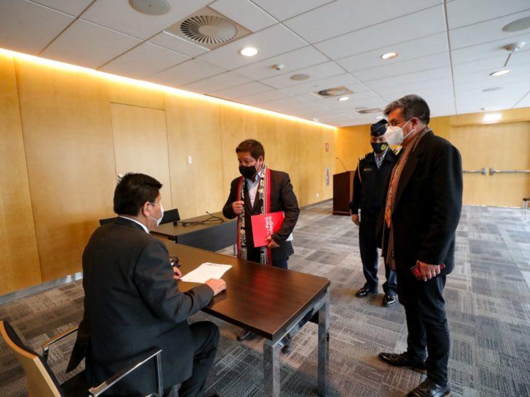 Guido Bellido entregó a PlusPetrol oficio para iniciar la renegociación del contrato del Gas de Camisea