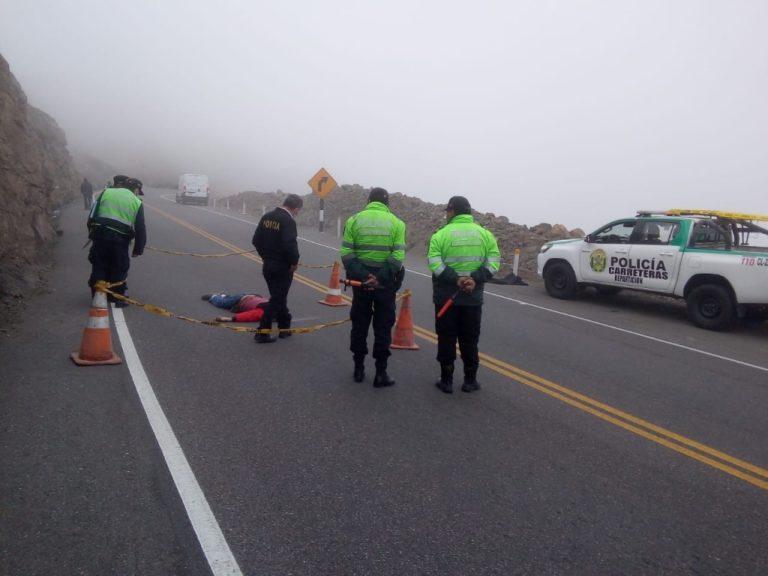 Hallan sin vida cuerpo de varón en plena carretera Panamericana por El Fiscal