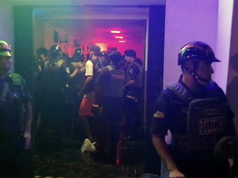 Cocachacra: grupo Terna intervino prostíbulos clandestinos